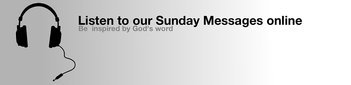 Sunday messages web banner